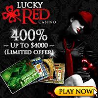 LuckyRed Casino Bonus